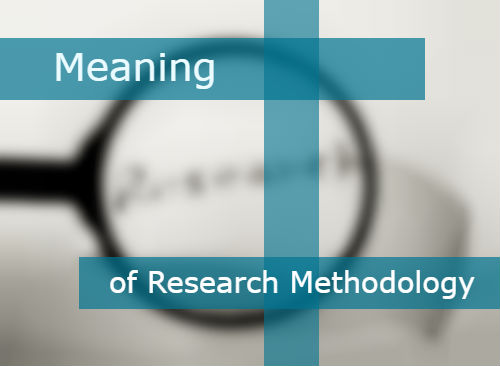 meaning of methodology in research Academiaedu is a platform for academics to share research papers.